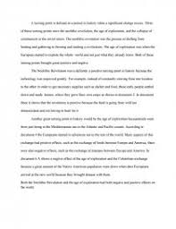 turning points in history essay similar essays
