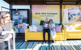 ikea furniture catalog. Adshel Immerse Interactive Advertising Featuring IKEA 2018 Catalogue In Newtown Ikea Furniture Catalog