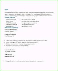 Unforgettable Industrial Engineer Resume You Will Need To