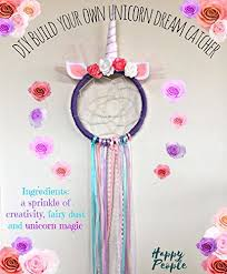 Dream Catcher Kits For Kids Cool Amazon DIY Unicorn Dream Catcher Kit Kids Craft Handmade