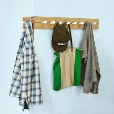 so home corner wall coat rack towel rail hanging 10 hooks fhk07