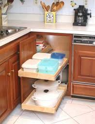 Blind Corner Cabinet Pull Out Shelves How To Build Pull Out Shelves For A Blind Corner Cabinet Part 100 15