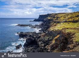 Pacific Coast Landscape Design Inc Cliffs And Pacific Ocean Landscape Stock Photo I5428952 At