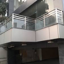 Stainless Steel Glass Balcony Grill