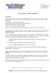 Conflict resolution techniques for adolescents june 15, 2015