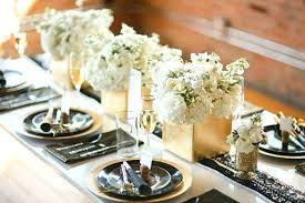 black and white office decor. Black White And Gold Decor Vases Party Ideas Posh Floral Designs Decorations Office