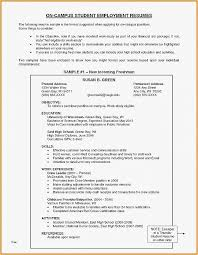 Resume Free Template 24 New Resumes for Students | Bizmancan.com
