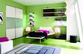 purple green kids room
