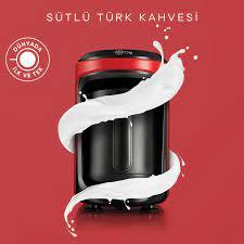 Karaca Hatır Hüps Sütlü Türk Kahve Makinesi Kırmızı Karaca