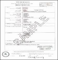 Editable Birth Certificate Template Wilkesworks