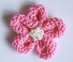 Knitted Flower Pattern Interesting Ravelry Knitted Flower Tutorial Pattern By Julie Taylor