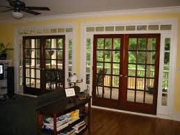 amazing wood patio doors and wood french doors sliding glass door replacement 43 faux wood vertical