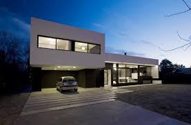 simple modern house with garage of cement house plans modern house design plans