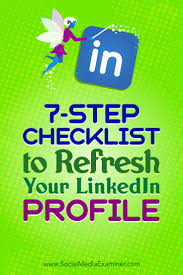 best images about linkedin tips executive job 7 step checklist to refresh your linkedin profile social media examiner