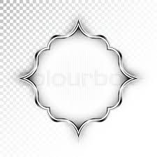vector abstract retro style design element on transparent Wedding Card Frame Border Vector stock vector of 'vector abstract retro style design element on transparent background for banner, Black Vector Border Frame