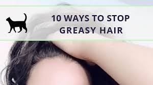 stop your hair from getting greasy so