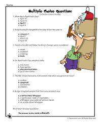 Reading Comprehension Worksheets For Kids Free Worksheets Library ...