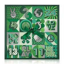 advent calander advent calendar standard the body shop