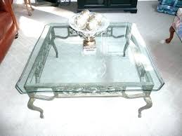 wrought iron coffee table with glass top wrought iron and glass coffee table glass coffee tables