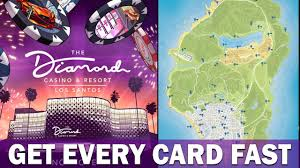 On Line Cards The Fastest Way To Get All Hidden Playing Cards In Gta 5 Online Casino Dlc