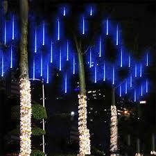 Falling Christmas Tree Lights Us 6 18 30 Off 50cm Meteor Shower Rain Tubes String Light Led Falling Lamp Christmas Tree Lights Wedding Decorative Light Garden Lamp In Led String