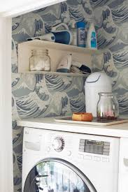 Laundry Room_Emily Henderson_Big Wave Wallpaper_Blue_LG_Detail_1 Laundry  Room_Emily Henderson_Big Wave Wallpaper_Blue_LG_Detail_3