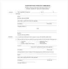 24+ Rental Agreement Templates - Pdf, Doc   Free & Premium Templates