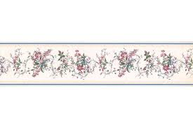 Flower Wall Paper Border Dusty Rose Floral Wallpaper Border Stores Crowdmedia