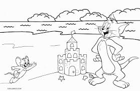 Most of kids liked it and i think that your kids will try to color tom and jerry to unexpected colors! Free Printable Tom And Jerry Coloring Pages For Kids
