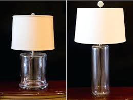 clear glass lamps you can fill glass lamp for interesting glass table lamp and target glass