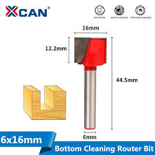 <b>XCAN</b> 1pc 25mm Wood Router Bits with 6mm Shank <b>Cleaning</b> ...