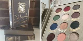 this palette has everything any aspiring witch could want plus these fantastic shadows are a part of an entire set of hp themed makeup accessories