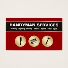 handyman business handyman business cards zazzle com