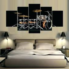 drum wall art wall arts drum set wall art 5 panel modern drum set art print drum wall art  on metal drum set wall art with drum wall art drum set metal wall decor oil drum wall art
