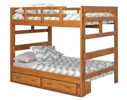 Heartland Full over Bunk Bed (2654 - Honey Pine) Woodcrest Pine