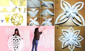 wall decoration with paper wall art using paper metallic paper or card sheet photo gallery for
