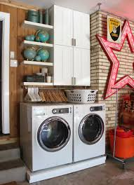 Washer And Dryer In Kitchen Cedar Walls The Cavender Diary