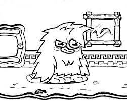 Fun With Free Moshi Monsters Colouring Pages Hubpages