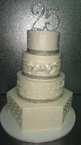 25th Anniversary Wedding Cake 608 Lynn Sandys Bakery
