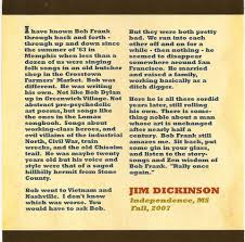 bob frank the best songwriter you never heard jim dickinson