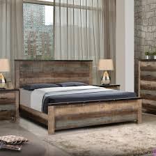 Sembene Bedroom Coaster Regarding Rustic King Size Bed Frame Decor 6 ...