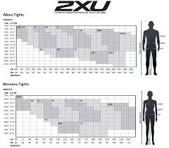 2xu Youth Compression Tights Size Chart 2xu Womens Mid Rise Compression Tights Black Dotted Reflective Logo