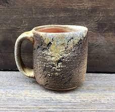 Handmade stoneware pottery made in canada. Organic Pottery Mug Handmade Coffee Mug Wood Fired Ceramics Etsy Pottery Mugs Mugs Pottery