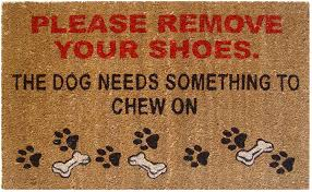Doormat please remove shoes doormat images : Buy Mats Matter Remove your shoes-Doormat(40 x 70 CM) Online at ...