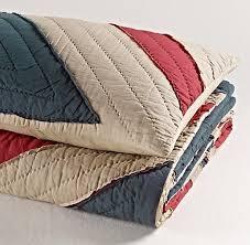 56 bästa bilderna om Union Jack Quilts etc... på Pinterest ... & Vintage-Washed Union Jack Quilt   Quilts & Shams   Restoration Hardware  Baby & Child Adamdwight.com