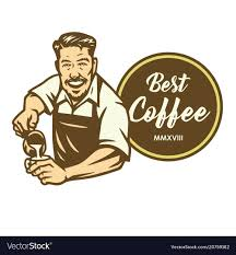 2020 popular 1 trends in home & garden, home appliances with barista coffee art stencils and 1. Barista Logo Free Template Ppt Premium Download 2020
