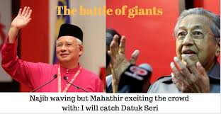 Image result for najib vs mahathir