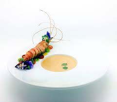 Langoustine & shrimp bisque ...