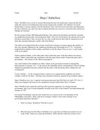 shays rebellion america s first civil war shays` rebellion doc