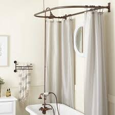 clawfoot tub hand shower conversion kit d style shower ring bathroom ideas of clawfoot tub shower